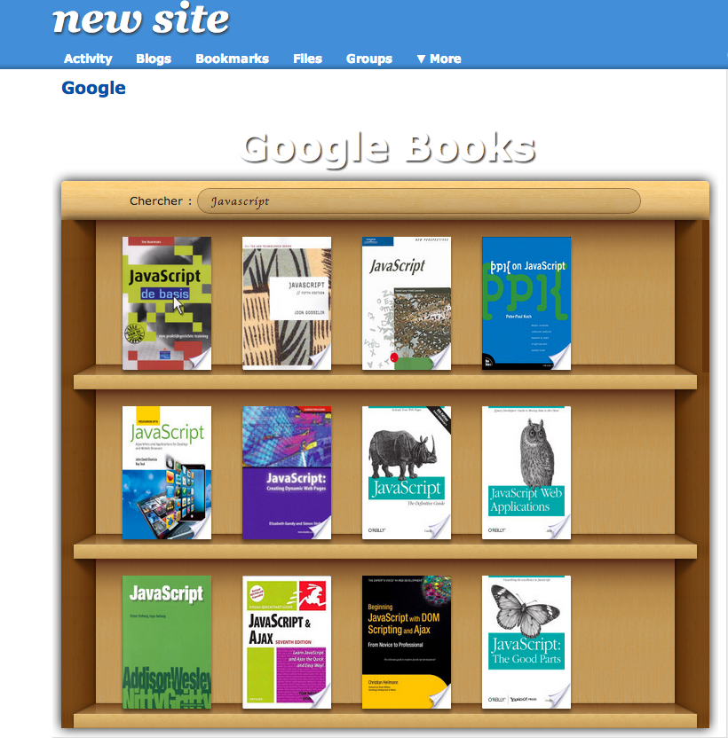 Google Books search