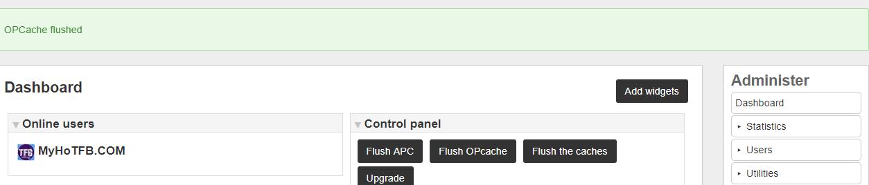 APC OpCache Tools : Elgg org