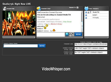 Live Streaming Broadcast