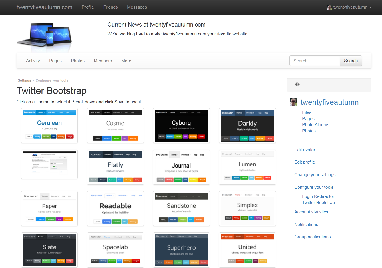 thesis theme twitter bootstrap Readmemd bootstrapwp - bootstrap theme for wordpress image bootstrap  is a responsive front-end toolkit from twitter designed to kickstart web.