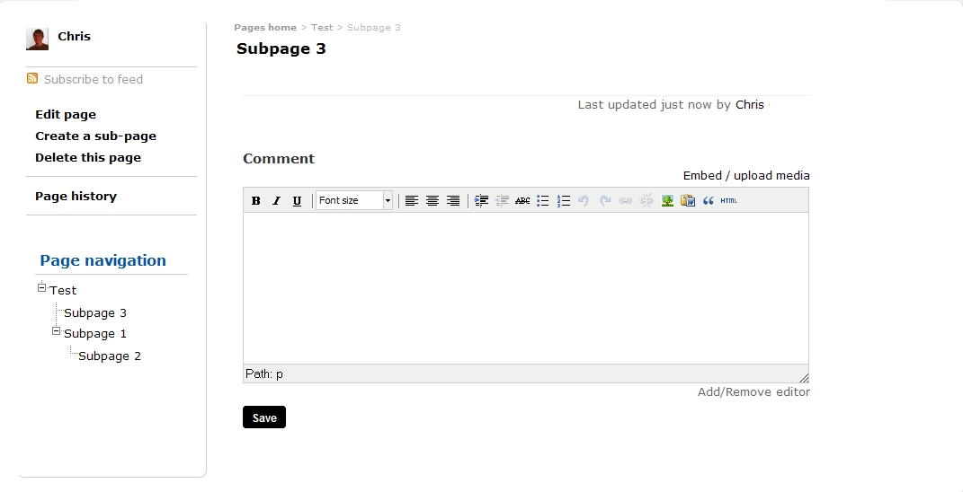 Subpage Moved