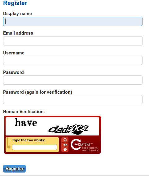 User Registration Form